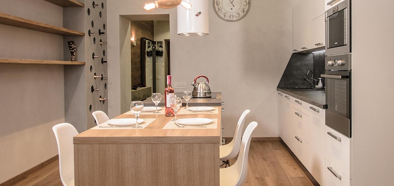 Кухни с фасадом из ламинированного ДСП