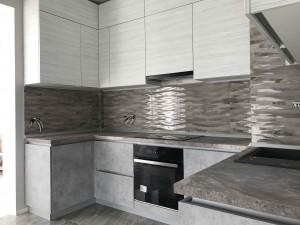 кухня с фасадом из ДСП